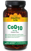 CoQ10 60 mg 60 sGels, Country Life