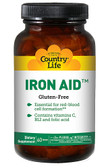 Iron Aid 60 Tabs, Country Life
