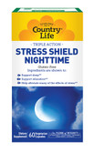 Stress Shield Nighttime 60 VCaps, Country Life