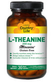 L-Theanine 200 mg 30 VCaps, Country Life