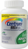 Silver Multivitamin-Multimineral Adults 50 Plus 220 Tabs, Centrum