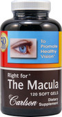 Right for The Macula 120 sGels, Carlson