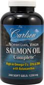 Salmon Oil Complete 1250 mg 240 sGels, Carlson