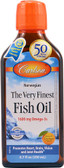 The Very Finest Fish Oil Orange 6.7 oz, Carlson
