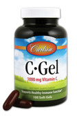 C-Gel Vitamin C 1000 mg 100 sGels, Carlson