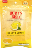 Natural Throat Drops Honey & Lemon 20 Drops, Burt's Bees