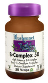 B-Complex 50 50 Vegetable Caps, Bluebonnet Nutrition