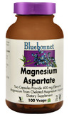 Magnesium Asparate 400 mg 100 Vegetable Caps, Bluebonnet Nutrition