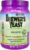 Earth Brewer's Yeast Powder Non-Bitter Unflavored 1 lb Bluebonnet Nutrition