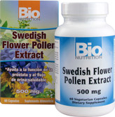 Swedish Flower Pollen Extract 500 mg 60 Caps, Bio Nutrition