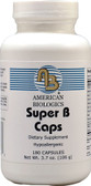 Super B Caps 180 Caps, American Biologics
