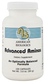 Advanced Aminos 100 Caps, American Biologics