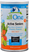 Active Seniors Multi Vitamin Mineral Powder Unflavored 5.3 oz All One Nutritech