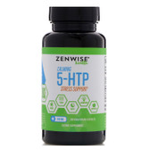 Calming 5-HTP Stress Support 100 mg 120 Vegetarian Caps Zenwise