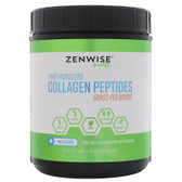 Pure Hydrolyzed Collagen Peptides Grass-Fed Bovine Unflavored 20 oz Zenwise