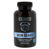 Zhou Iron Beard 60 Veggie Caps, Beard & Hair Nutrition
