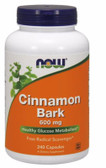 Cinnamon Bark 600 mg 240 Caps Now Foods