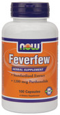 Now Foods Feverfew 400 mg 100 Caps, Migraines
