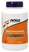 100% Pure Glucomannan Powder 8 oz Now Foods, Promotes Satiety