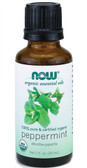 Organic Peppermint Oil 1 oz, Now Foods