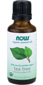Now Foods Organic Tea Tree Oil 1 oz, Cleansing