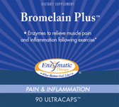 Bromelain Plus 90 UltraCaps Enzymatic Therapy