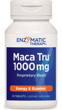 Maca Tru 30 Tabs Enzymatic Therapy, Energy