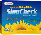 SinuCheck 40 Softgels Enzymatic Therapy