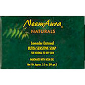 Ultra-Sensitive Soap Lavender/Oatmeal 1 bar, Neem Aura