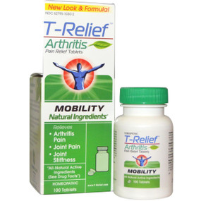 T-Relief, Arthritis Pain Relief 100 Tabs (form Zeel by Heel), MediNatura, Joints