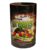 Greens World  Inc Delicious Greens 8000 Mocha Cafe Flavor 10.6 oz