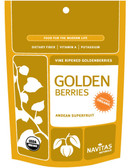Organic Golden Berries 4 oz Navitas Naturals, Antioxidants