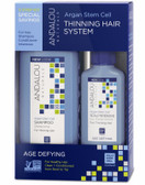 Age Defying Hair Treatment System 3 PC Andalou, Shampoo, Conditioner
