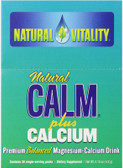Calm Plus Calcium Regular Flavor 30 Packets, Natural Vitality