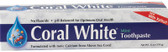 Coral White Toothpaste Mint 6 oz Coral LLC