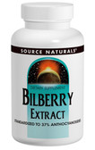 Bilberry Extract 100 mg 120 Tabs Source Naturals, Eyes