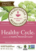 Healthy Cycle Tea 16 Bags, Traditional Medicinals Teas, Woman