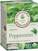 Peppermint Tea 16 Bags Traditional Medicinals, Upset Stomach