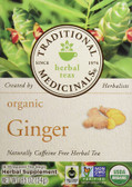 Organic Ginger 16 Bags, Traditional Medicinals Teas