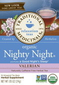 Nighty Night Valerian 16 Bags Traditional Medicinals Teas