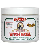 Thayers Witch Hazel original w Aloe Vera 60 Pads