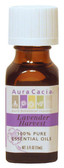 Aura Cacia Lavender Harvest Essential Oil Blend 0.5 oz bottle