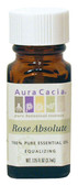 Aura Cacia Rose Absolute 100% Pure Essential Oil 0.125 oz bottle
