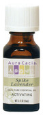 Aura Cacia Lavender (Spike) 100% Pure Essential Oil 0.5 oz bottle