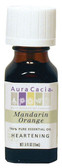 Aura Cacia Orange (Mandarin) 100% Pure Essential Oil 0.5 oz bottle