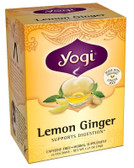 Lemon Ginger Tea 16 Bags, Yogi Teas