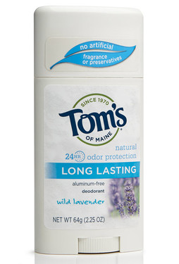 Deodorant Stick Long Lasting Wild Lavender 2.25 oz, Tom's of Maine