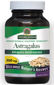 Astragalus Root 90 Caps Nature's Answer, Fatigue, Immune Support