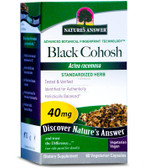 Black Cohosh Root Standardized 60 Caps Nature's Answer, Hormonal Balance