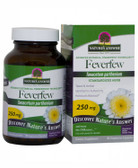 Feverfew Herb Standardized 90 vegicaps, Nature's Answer